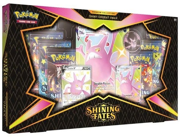 Pokémon TCG – Shining Fates – Premium Collection Shiny Crobat VMAX EN